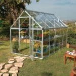 Palram Harmony 6 x 10 Silver Polycarbonate Greenhouse