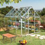 Palram Snap & Grow 6 x 8 Silver Greenhouse