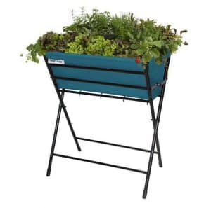 VegTrug Poppy Planter - Pale Blue