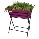 VegTrug Poppy Planter - Purple
