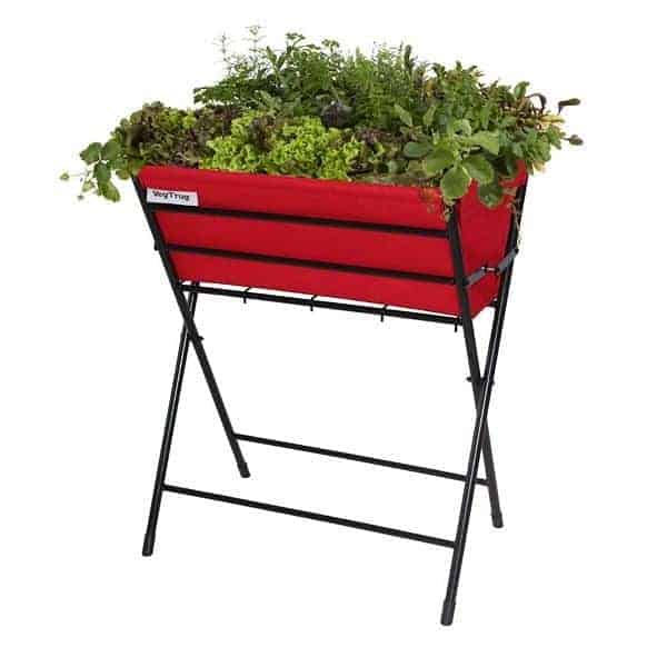 VegTrug Poppy Planter - Red