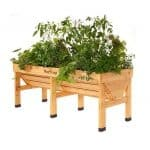 Vegtrug 1.8m Medium Wooden Patio Planter