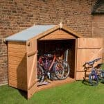 2'8 X 6'7 Windsor Bike Storage Shed