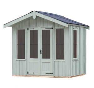 The Ickworth Summerhouse - Disraeli Green 8 X 8