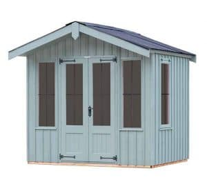 The Ickworth Summerhouse - Painters Grey 10 X 8