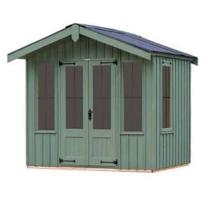 The Ickworth Summerhouse - Terrace Green 10 X 6