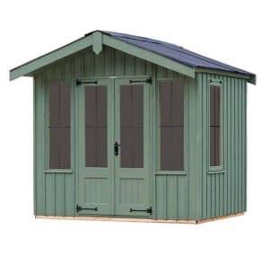 The Ickworth Summerhouse - Terrace Green 10 X 6