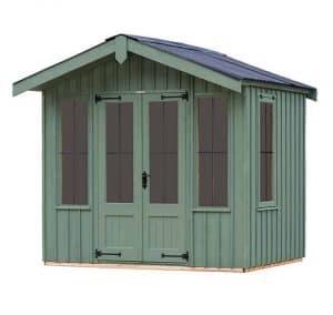 The Ickworth Summerhouse - Terrace Green 8 X 8