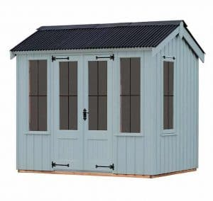 The Lavenham Summerhouse - Painters Grey
