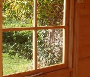 7'1 x 8'11 (2.2x2.7m) Shire Casita including Veranda Windows