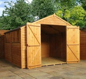 10' x 10' Windsor Overlap Modular Shed Workshop Empty Inside