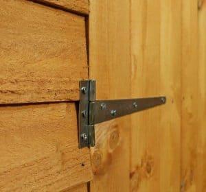 10' x 10' Windsor Overlap Modular Shed Workshop Hinged Door