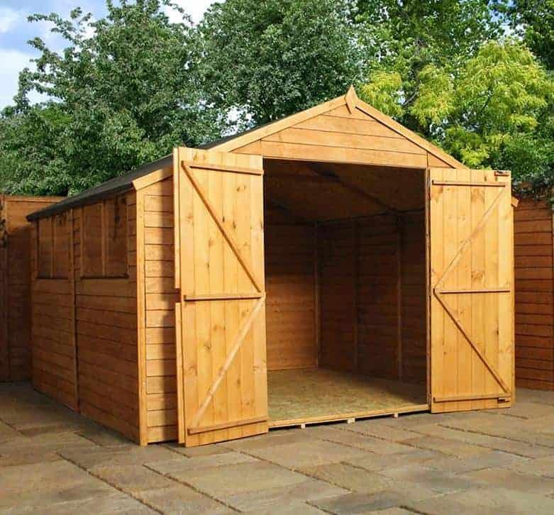 10 39 x 10 39 windsor overlap modular shed workshop what shed for Prefab work shed
