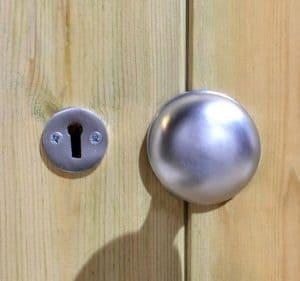 10' x 6' Shed-Plus Champion Heavy Duty Apex Single Door Lock