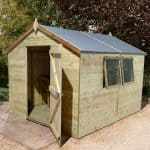 10' x 6' Shed-Plus Champion Heavy Duty Apex Single Door Shed