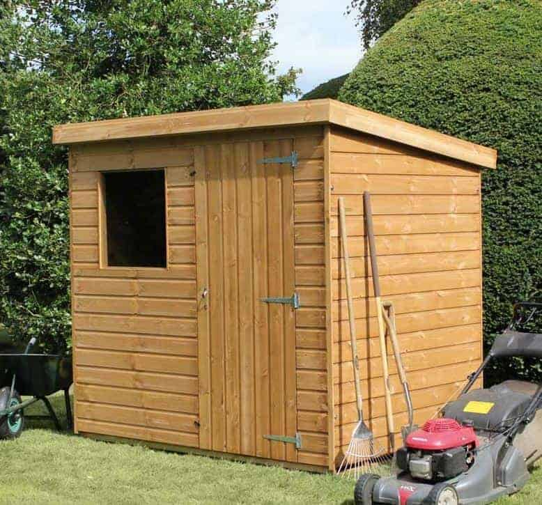 10' x 6' Traditional Standard Pent Shed