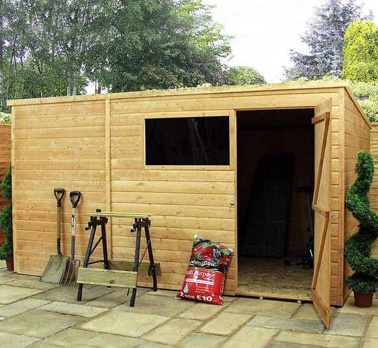 10' x 6' Windsor All-Purpose Pent Shed