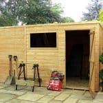 10' x 8' Windsor All-Purpose Shiplap Pent Shed