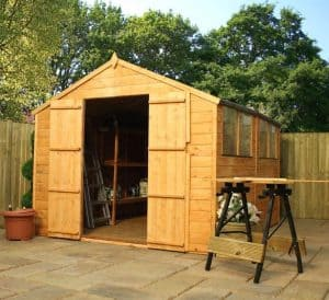 10' x 8' Windsor Shiplap Double Door 108 Shed 2