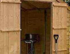 10' x 8' Windsor Shiplap Double Door 108 Shed Internal