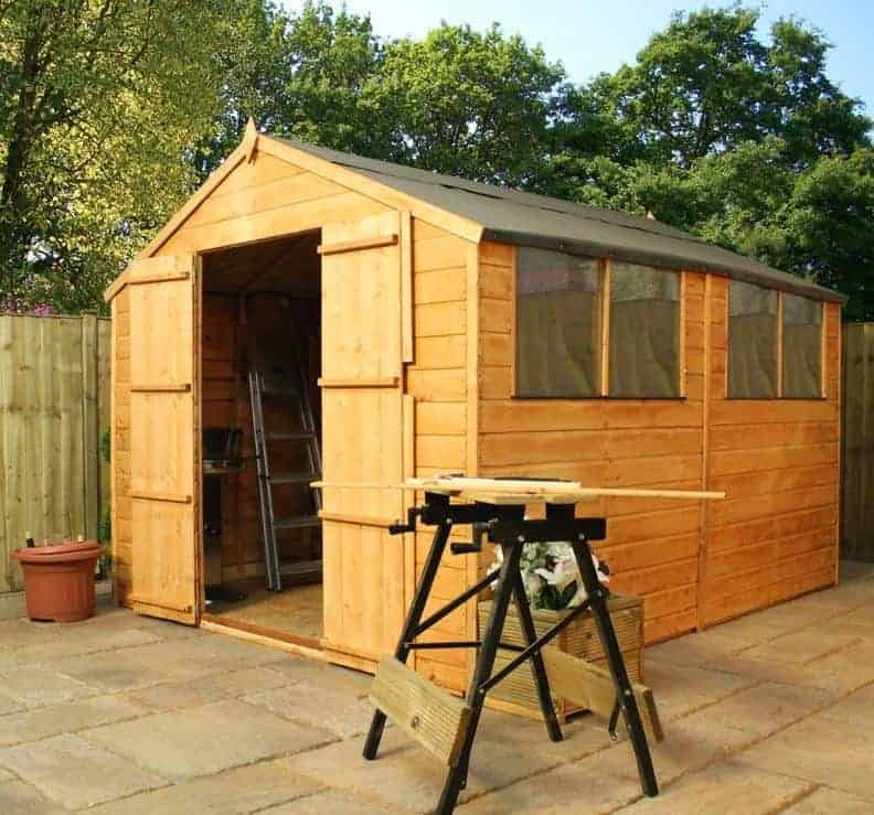 10' x 8' Windsor Shiplap Double Door 108 Shed