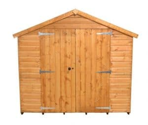 10'1 x 8'1 Shed-Plus Shiplap Workshop Shed Front