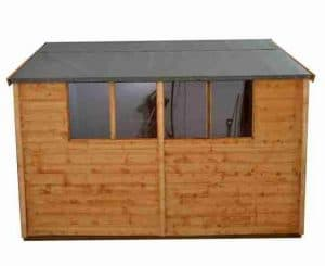 10'1 x 8'1 Shed-Plus Shiplap Workshop Shed Side View