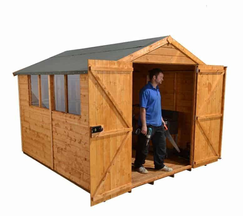 10'1 x 8'1 Shed-Plus Shiplap Workshop Shed
