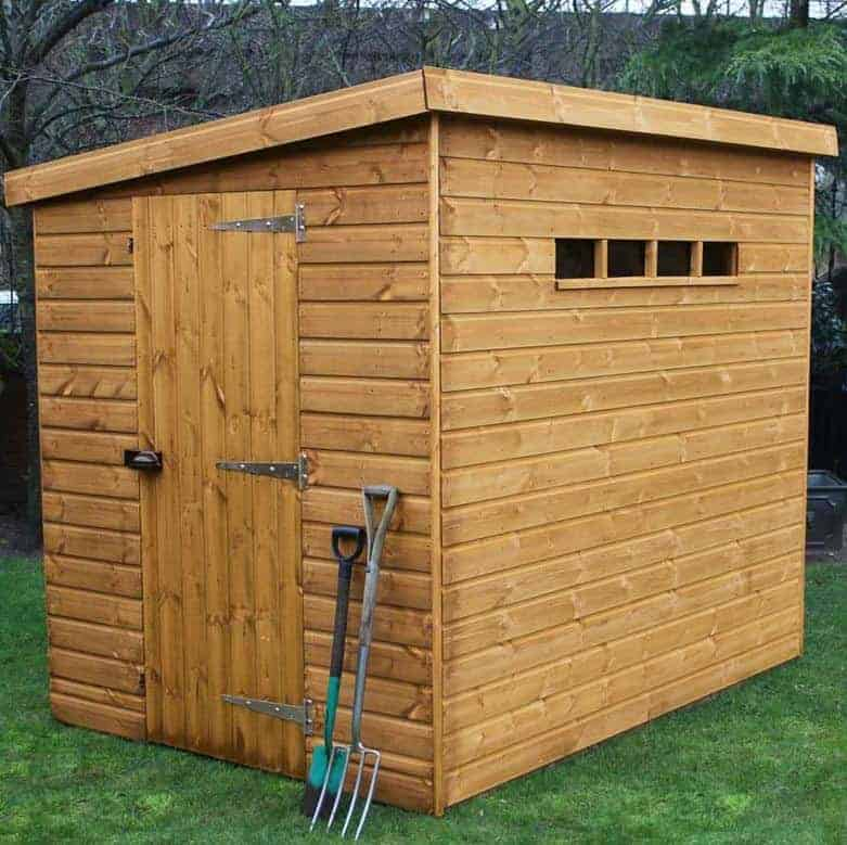 6' x 4' Traditional Pent Security Shed