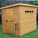 7' x 5' Traditional Pent Security Shed