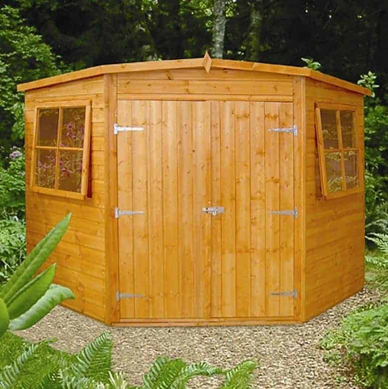7 39 5 x 7 39 5 shire shiplap corner shed what shed for Garden shed 7 x 5