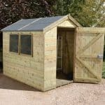 8' x 6' Shed-Plus Champion Heavy Duty Apex Single Door Shed