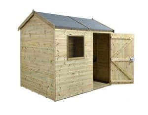 8' x 6' Shed-Plus Champion Heavy Duty Reverse Apex Single Door Shed 2
