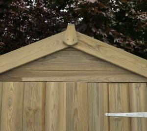 8' x 6' Shed-Plus Heavy Duty Tongue and Groove Wooden Shed Top