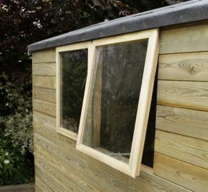 8' x 6' Shed-Plus Heavy Duty Tongue and Groove Wooden Shed Windows