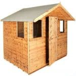 8' x 6' Traditional 6' Cabin Shed