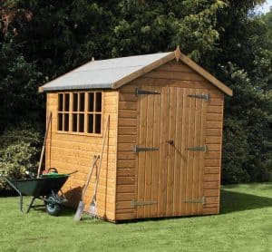 8' x 6' Traditional Heavy Apex Shed
