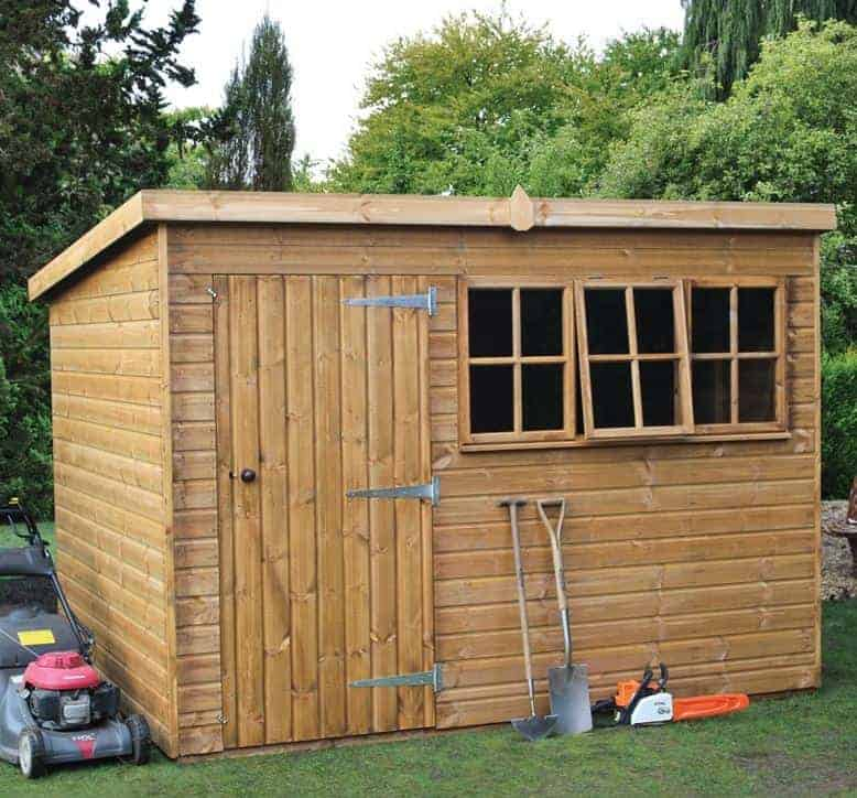 8' x 6' Traditional Heavy Pent Shed