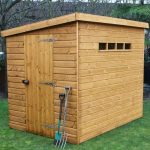 8' x 6' Traditional Pent Security Shed