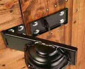 8' x 6' Traditional Pent Security Shed Lock Security
