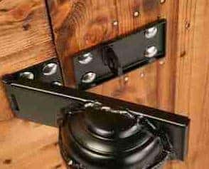 8' x 6' Traditional Pent Security Shed Security Lock