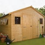10' x 10' Windsor Groundsman Workshop Shed