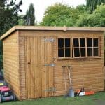 10' x 6' Traditional Heavy Pent Shed
