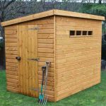 10' x 6' Traditional Pent Security Shed
