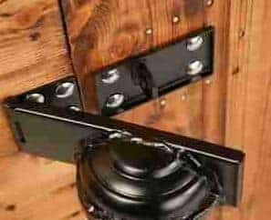 10' x 6' Traditional Pent Security Shed Door Lock