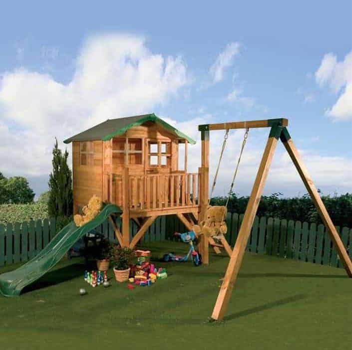 12 x 13 Waltons Honeypot Poppy Tower Playhouse Activity Centre