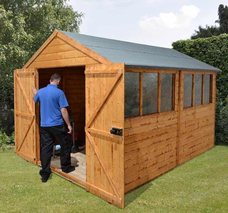 12u2032 X 8u2032 Shed Plus Heavy Duty Shed Workshop