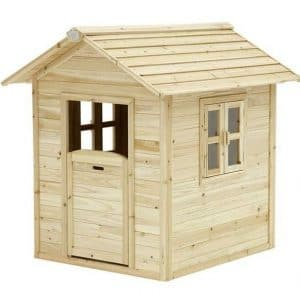 4 x 3 Noa Axi Playhouse Natural Wood Finish
