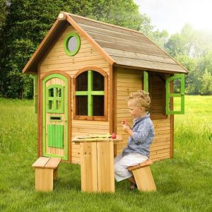 4 x 4 Julia Axi Playhouse Side View