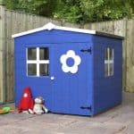 4 x 4 Waltons Honeypot Bluebell Wooden Playhouse